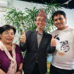 瞑想会の後、ネパールのヒーラー サプコタ・ケサップ(Keshab Sapkota)さんに柏のカフェで出会った話